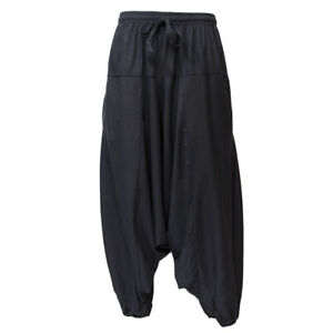 Oversized Hemp Harem Pants Drop Crotch Hippy Hippy Pants