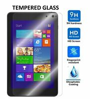 premium Tempered Glass Screen Protector For Dell Venue 8 Pro Tablet:(windows)