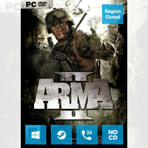 Arma II 2 for PC Game Steam Key Region Free