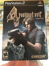Sony Playstation 2 PS2 Resident Evil 4 Premium Edition Almost Complete No Cel!