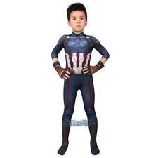 Avengers Captain America Cosplay Kostüm Costume Outfit Kid Kinder Halloween 2