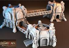 Base Hub Outpost Set Suitable for 25-32mm Science Fiction Wargaming