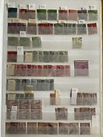 Trinidad GB Commonwealth Stamps QV -QEII Off Paper In Stock Book Early Examples