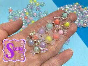 10pcs Mix Styles Candy Beads   Beads   Shape: Candy   Gloss, Gloss Shine & Matt