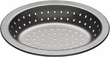 Kitchen Craft Master Class Crusty Bake Pie Grey Dish, Double Non-Stick Coating