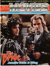 JENNIFER BEALS & STING AUGUST 1985 MOVIES AND INCLUDES A STING ROCK CARD RARE