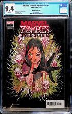 Marvel Zombies Resurrection 1 Peach Momoko Variant 1:50 CGC 9.4 #3756788002