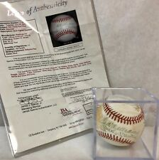 500 Home Run Club Ball SIGNED by 11: WILLIAMS, MANTLE, MAYS, AARON + 7 JSA CoA!