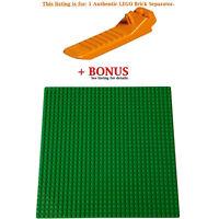 1 Authentic LEGO Separator. Plus Bonus Green 10 x 10-inch compatible base plate