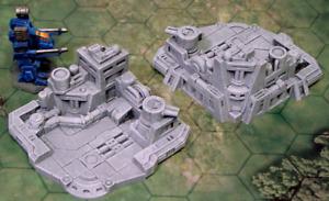 Wargames 6mm / 1/300 Scenery Terrain Building Warhammer - Main Base