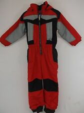 Sportscaster Insulated One Piece Snow Suit for Kids, size Kids Medium. WINDPROOF