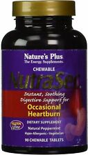 NutraSec, Nature's Plus, 90 chewable tablets