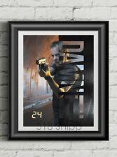 24 Jack Bauer Art Print Poster Kiefer Sutherland Damn It