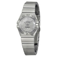 Omega Constellation Mother of Pearl Dial 24 mm Ladies Watch 123.10.24.60.55.001