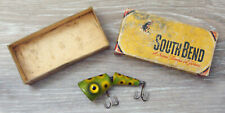 Vintage South Bend Goplunk #2929 Wood Fishing Lure & Correct Box!