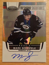 11-12 Certified Freshman Signatures #199 Mark Scheifele-Winnipeg Jets RC SP