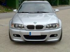 BMW E46 Front Bumper Cup Chin Spoiler Lip Sport Valanc Splitter M3 M CSL Cupra