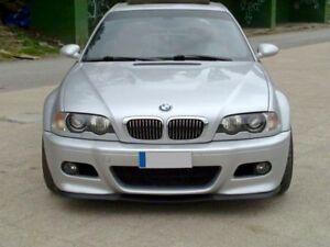 Für BMW E46 3er Front Lippe Spoiler Lippe Frontschürze Frontansatz M3 M Cupra