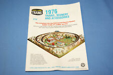 Life-Like 1976 HO Scale Gauge Model RR Railroad Trains Scenery & Accs Booklet