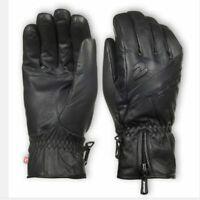 Leder Ziener Herren Ski Handschuhe GADIME PR Schwarz 8,5 M Mens Glove PrimaLoft