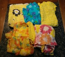 Lot of 6 Girls Dresses One Pieces Size 24 Months