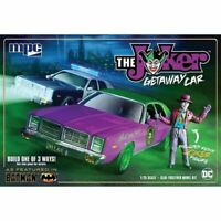 MPC MPC890 1:25 Getaway Car with Resin Joker Figure Model Kit BATMAN JOKER