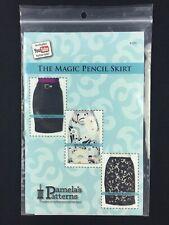 Pamelas Patterns Magic Pencil Skirt Multi Size You Tube Tutorial No Waistband