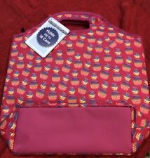 New With Tags Pink Pineapple Cooler Tote Bag