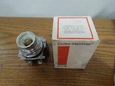 Cutler-Hammer 10250T221N Pretest Light Transformer 120V 1 Hole MTG New Surplus