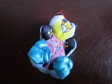 Vintage Fisher Price Panda Bear smuggler Smooshees Smooshies Amanda Circus Toy