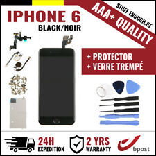 AAA+ LCD SCREEN SCHERM ÉCRAN ASSEMBLY BLACK NOIR+TOOLS&VERRE TREMPÉ FOR IPHONE 6