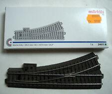 TRAIN MARKLIN HO - AIGUILLAGE MANUEL GAUCHE 24611 neuf /boite