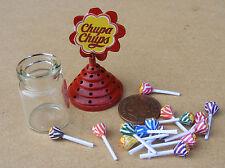 Échelle 1:12 Chupa Chups Sucette titulaire de maison de poupées miniature SWEET Accessoire
