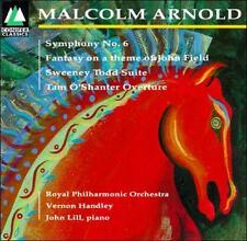 Malcolm Arnold: Symphony No. 6; Tam O'Shanter Overture (CD, Conifer) Handley