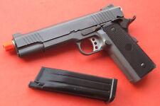 1911 Full Metal Gas Blow Back Airsoft Gun Gun Metal Color Shoot up to 360 FPS