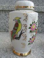 Pot à Thé Porcelaine Japonaise Fleurs et oiseau 16,5 cm