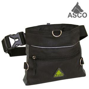 ASCO Leckerlibeutel , Futterbeutel , Futtertasche für Hunde und Pferde, 20x20cm