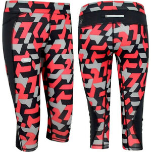 PUMA Ladies Camoflauge 3/4 Tight Running Sports Leggings Kompression's Trousers