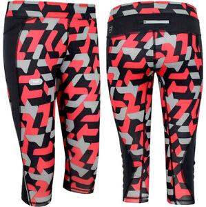 PUMA Ladies 3/4 Run Tight Running Sports Leggings Kompression's Pants Black/