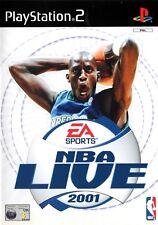 NBA Live 2001 PS2 (PlayStation 2)  - Free Postage - UK Seller