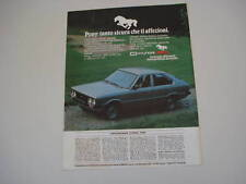 advertising Pubblicità 1982 HYUNDAI PONY