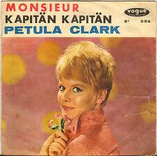 """PETULA CLARK """"MONSIEUR / KAPITAN KAPITAN"""" 60'S SP VOGUE 14 006"""