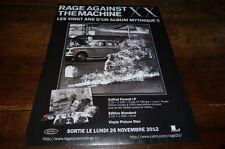 RAGE AGAINST THE MACHINE - Publicité de magazine / Advert !!! 20 ANS !!! 1