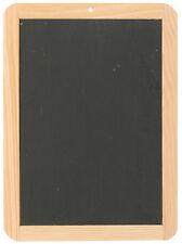 Schiefertafel Kreidetafel ca 30 x 22 cm inkl 12er Set farbige Kreide