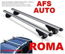 BARRE PORTATUTTO ALLUMINIO AFS X FIAT CROMA 2007 CON RAILS CON CHIAVE ANTIFURTO