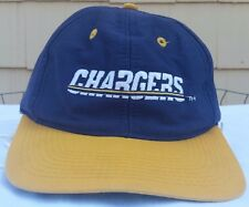 San Diego Chargers Logo 7 snapback hat cap NFL vintage 90s vtg SD