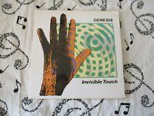 "GENESIS "" INVISIBLE TOUCH "" MINI JAPAN  CD ALBUM  + INSERTS / LYRIC SHEET"