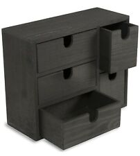 Small Multi Purpose Desktop Organizer Caddy with 5 Drawers Storage Cabinet Sewin
