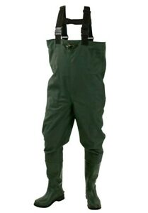 ***FREE SHIPPING***Frogg Toggs Cascades™ Rubber Cleated Bootfoot Waders Sz 7 NEW