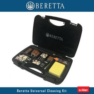 Beretta Universal Gun Cleaning Kit Multi Caliber Shotgun Rifle Brush Mop Rod Set